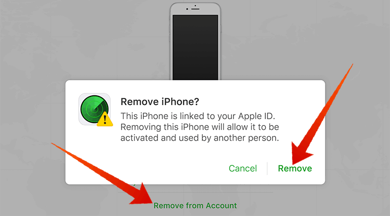 How to remove your iCloud account from your iPhone remotely.