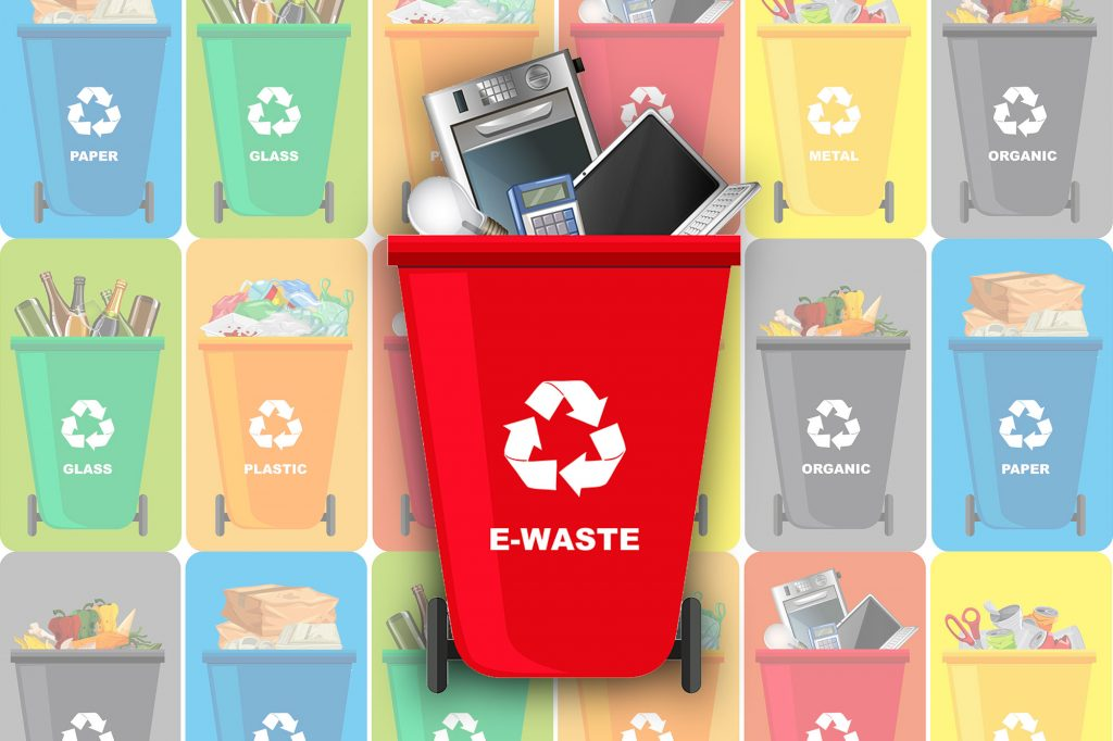 Should you recycle e-waste the same way you do plastic and glass?